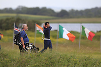 Paul Coughlan (Castleknock) on the 7th tee during Round 1 of the The Amateur Championship 2019 at The Island Golf Club, Co. Dublin on Monday 17th June 2019.<br /> Picture:  Thos Caffrey / Golffile<br /> <br /> All photo usage must carry mandatory copyright credit (© Golffile | Thos Caffrey)