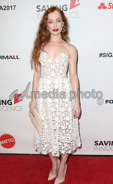30 September 2017 - Los Angeles, California - Lotte Verbeek. 6th Annual Saving Innocence Gala held at Loews Hollywood Hotel. Photo Credit: F. Sadou/AdMedia