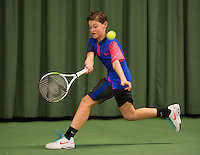 March 8, 2015, Netherlands, Rotterdam, TC Victoria, NOJK, Freek van Donselaar (NED)<br /> Photo: Tennisimages/Henk Koster