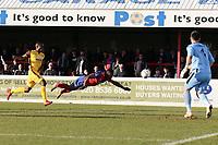 Liam Gordon of Dagenham goes close during Dagenham & Redbridge vs Sutton United, Vanarama National League Football at the Chigwell Construction Stadium on 23rd February 2019