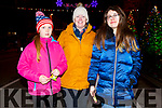 Alison, Jane and Rebecca Lomasney from Lixnaw at the firework display in Denny St on New Years Eve.