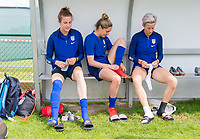Reims, FRA - June 23, 2019:  The USWNT trains in preparation for the round of 16 match at the FIFA Women's World Cup.
