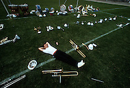 San Francisco, CA &ndash; August 28th 1982<br /> The first Gay Olympic game, at the opening ceremony, the band is resting.