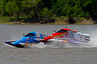 Frame 1: Chris Hughes, (#17) and Mark Schmerbach, (#35) come together in the first turn.    (SST-45 class)