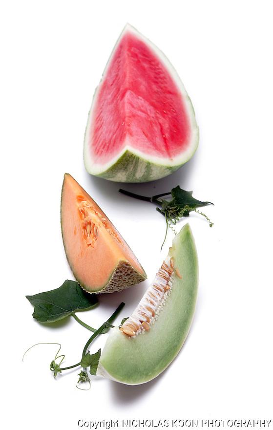 Melons still life.