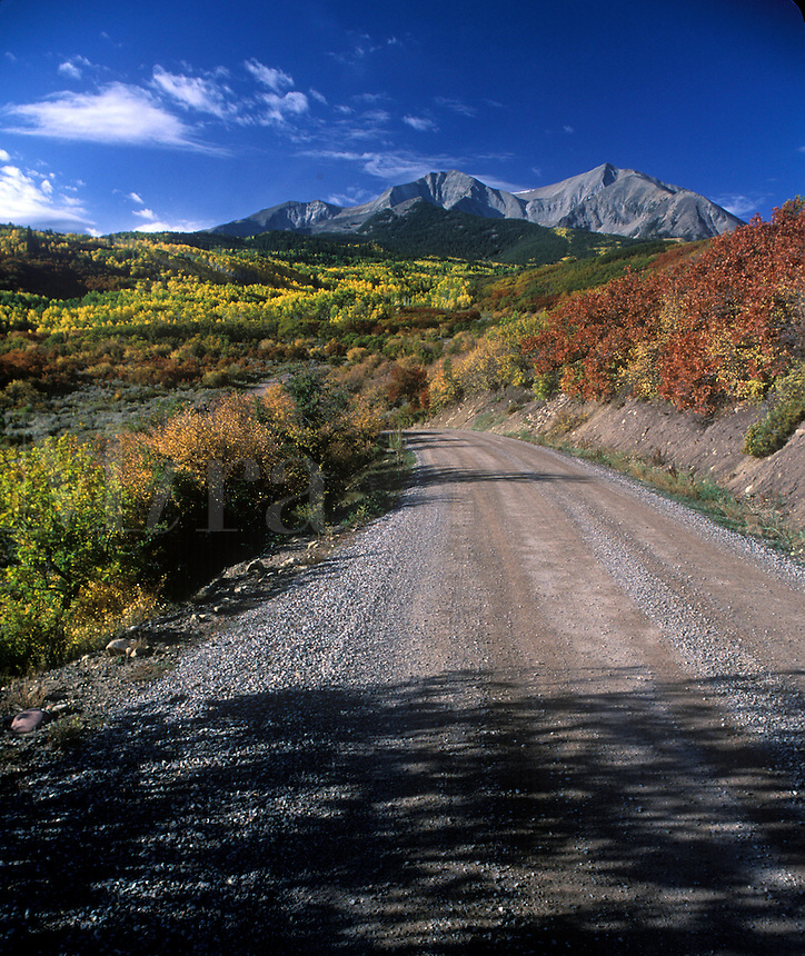 Unpaved back country road..