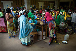 These women are patients from Panzi hospital that treats the most extreme internal damage caused by rape. <br />