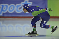 SPEEDSKATING: CALGARY: 12-11-2015, Olympic Oval, training, Ronald Mulder, ©foto Martin de Jong