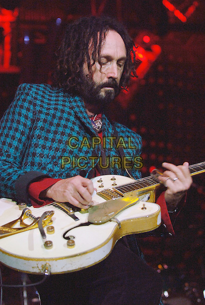 MIKE CAMPBELL.Tom Petty and the Heartbreakers perform a sold-out show at Post-Gazette Pavilion, Pittsburgh, Pennsylvania, USA..June 10th, 2008.stage concert live gig performance music half length guitar beard facial hair .CAP/ADM/JN.©Jason L Nelson/AdMedia/Capital Pictures