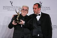 NEW YORK, NY 21.11.2016 - EMMY-2016 -  Walcyr Carrasco durante tapete vermelho do Emmy Internacional 2016 prêmio dos melhores atores e novelas da TV, em Nova York, nos Estados Unidos na noite desta segunda-feira, 21. (Foto: Vanessa Carvalho/Brazil Photo Press)
