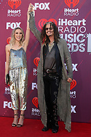 LOS ANGELES - MAR 14:  Aimee Preston, Steven Tyler at the iHeart Radio Music Awards - Arrivals at the Microsoft Theater on March 14, 2019 in Los Angeles, CA