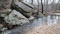 NWA Democrat-Gazette/FLIP PUTTHOFF<br /> Tanyard Creek Nature Trail offers   Dec. 1, 2015   an easy and scenic two-mile hike.
