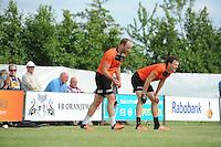 KAATSEN: SINT JACOB: 19-06-2016, Heren Hoofdklasse Vrije formatie winnaar werden Gert-Anne van der Bos, Taeke Triemstra en Daniël Iseger (aan de opslag), ©foto Martin de Jong
