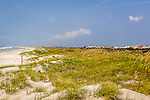 Beach scene, Sunset Beach, Brunswick County, NC