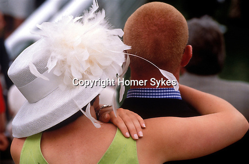 COUPLES AT GLORIOUS GOODWOOD RACES ESSEX,
