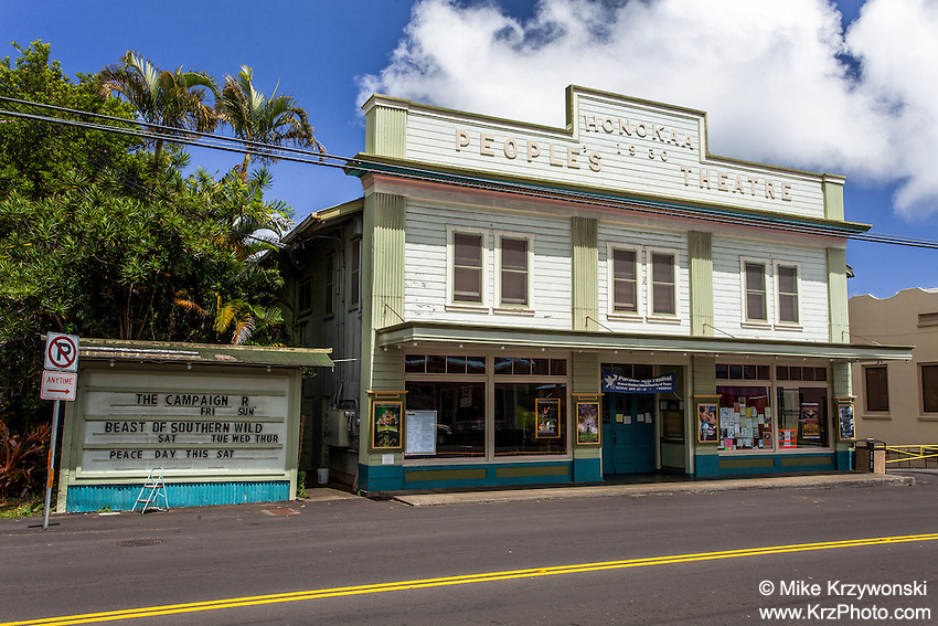 Honokaa People's Theatre, Big Island, Hawaii