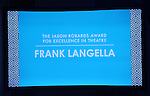 """Frank Langella during the Roundabout Theatre Company's 2017 Spring Gala """"Act ii: Setting the Stage for Roundabout's Future""""  presentation honoring Frank Langella and Leonard Tow at the Waldorf Astoria Hotel on February 27, 2017 in New York City."""
