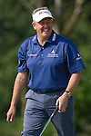 Colin Montgomerie during the Mission Hills Start Trophy at the Mission Hills Golf Resort on October 31, 2010 in Haikou, China. The Mission Hills Star Trophy is Asia's leading leisure liflestyle event and features Hollywood celebrities and international golf stars. Photo by Victor Fraile