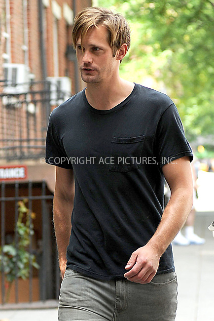 WWW.ACEPIXS.COM . . . . . .August 11, 2011 New York City....Alexander Skarsgard on the set of ' What Maisie Knew' on August 11, 2011 in New York City....Please byline: KRISTIN CALLAHAN - ACEPIXS.COM.. . . . . . ..Ace Pictures, Inc: ..tel: (212) 243 8787 or (646) 769 0430..e-mail: info@acepixs.com..web: http://www.acepixs.com .