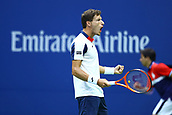 8th September 2017, Flushing Meadows, New York, USA;  PABLO CARRENO BUSTA (ESP) during day twelve match of the 2017 US Open on September 08, 2017 at Billie Jean King National Tennis Center, Flushing Meadow, NY.
