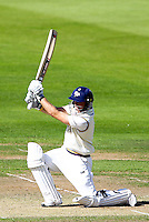 PICTURE BY ALEX WHITEHEAD/SWPIX.COM - Cricket - County Championship Div Two - Yorkshire v Glamorgan, Day 2 - Headingley, Leeds, England - 05/09/12 - Yorkshire's Adam Lyth hits out.