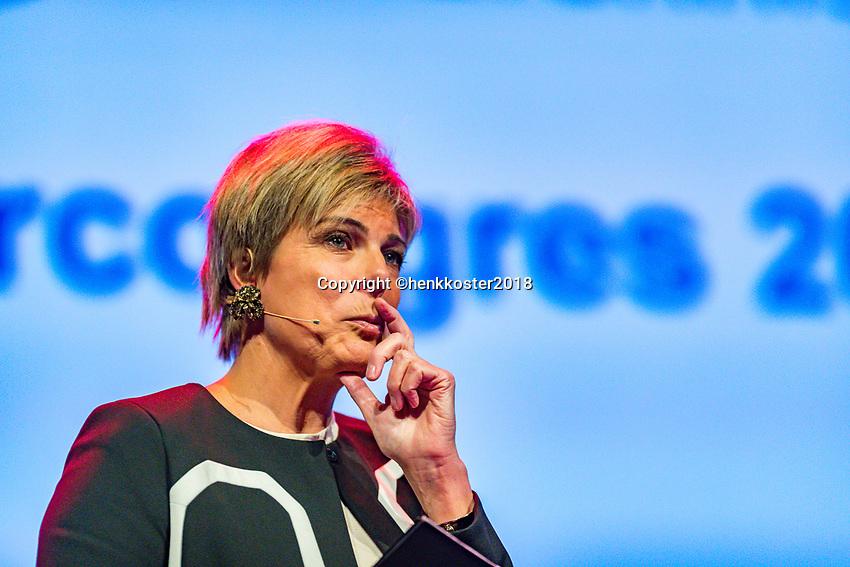 Nieuwegein,  Netherlands, 24 November 2018, KNLTB Year congress KNLTB, Princess Laurentien<br /> Photo: Tennisimages.com/Henk Koster