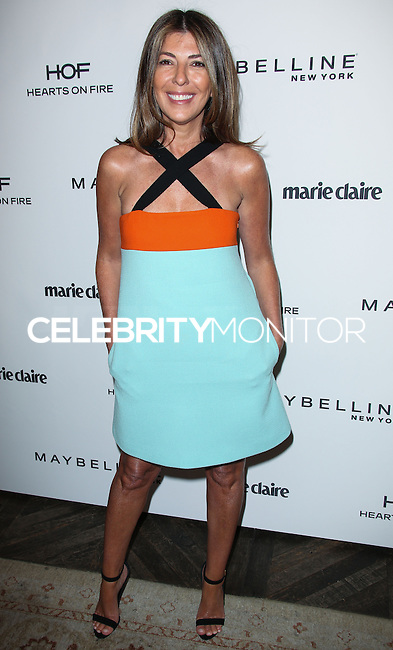 WEST HOLLYWOOD, CA, USA - APRIL 08: Nina Garcia at the Marie Claire Fresh Faces Party Celebrating May Cover Stars held at Soho House on April 8, 2014 in West Hollywood, California, United States. (Photo by Celebrity Monitor)
