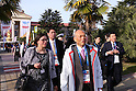 Tokyo Governor Yoichi Masuzoe visits Sochi: Sochi 2014 Olympic Winter Games