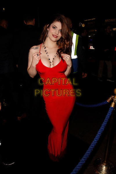 LONDON, ENGLAND - NOVEMBER 05 :  Lucia Love attends The PRP Awards 2015, at the Cafe De Paris on November 05, 2015 in London, England.<br /> CAP/AH<br /> &copy;Adam Houghton/Capital Pictures
