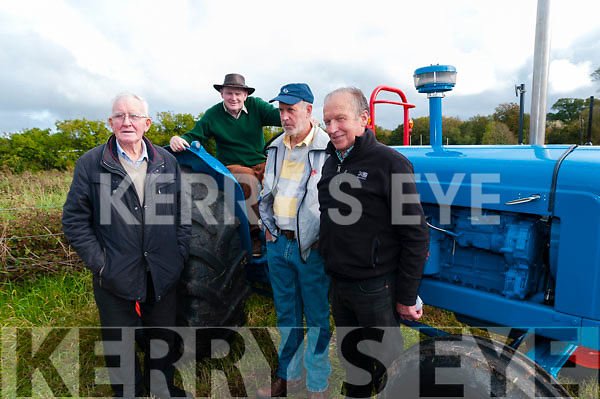 Attending the Listowel Threshing & Vintage & family day on Sunday last were Christy Costello, Listowel, Denis Hegarty, Glin, Martin O'Connor, Listowel & Steve Galvin, Liselton.