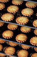 Europe/France/Bretagne/29/Finistère/Cap Sizun/Plogoff: Biscuiterie de la pointe du Raz - Fabrication des galettes bretonnes