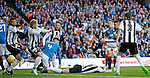 Lee Wallace rattles in his opener