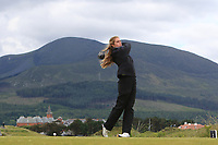 Patricia Garre Munoz (ESP) on the 2nd tee during Round 1 of the Women's Amateur Championship at Royal County Down Golf Club in Newcastle Co. Down on Tuesday 11th June 2019.<br /> Picture:  Thos Caffrey / www.golffile.ie<br /> <br /> All photos usage must carry mandatory copyright credit (© Golffile | Thos Caffrey)