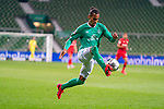 Theodor Gebre Selassie (Werder Bremen #23)<br /> <br /> <br /> Sport: Fussball: 1. Bundesliga: Saison 19/20: <br /> 26. Spieltag: SV Werder Bremen vs Bayer 04 Leverkusen, 18.05.2020<br /> <br /> Foto ©  gumzmedia / Nordphoto / Andreas Gumz / POOL <br /> <br /> Nur für journalistische Zwecke! Only for editorial use!<br />  DFL regulations prohibit any use of photographs as image sequences and/or quasi-video.
