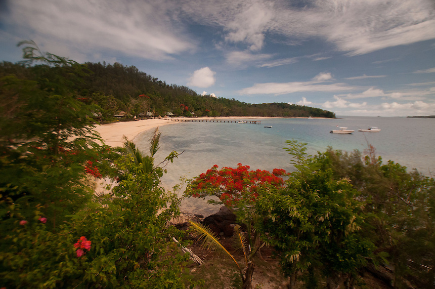 Dolphin Beach from Vonu Point, Turtle Island, Yasawa Islands, Fiji