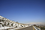 Golan Heights, road 98 to Mount Hermon