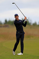 Thomas Detry (BEL) on the 1st during Round 2 of the Aberdeen Standard Investments Scottish Open 2019 at The Renaissance Club, North Berwick, Scotland on Friday 12th July 2019.<br /> Picture:  Thos Caffrey / Golffile<br /> <br /> All photos usage must carry mandatory copyright credit (© Golffile | Thos Caffrey)