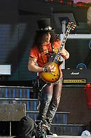 DERBY, ENGLAND - JUNE 9: Slash of 'Guns N' Roses' performing at Download Festival, Donington Park on June 9, 2018 in Derby<br /> CAP/MAR<br /> &copy;MAR/Capital Pictures