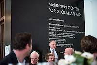 Occidental College hosts a dinner to honor trustees and donors on Jan. 25, 2015 in the McKinnon Center for Global Affairs, Johnson Hall. (Photo by Marc Campos, Occidental College Photographer)