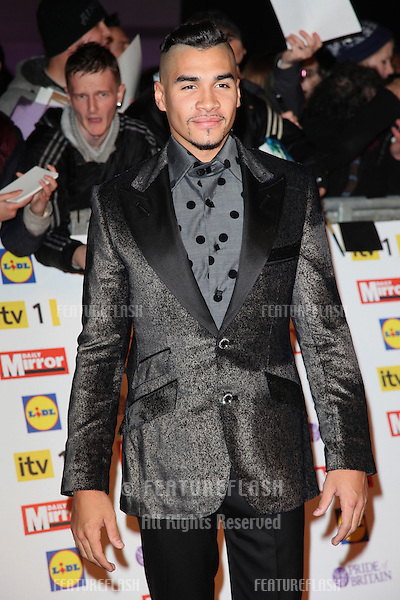 Louis Smith arriving for the 2012 Pride of Britain Awards, at the Grosvenor House Hotel, London. 29/10/2012 Picture by: Alexandra Glen / Featureflash