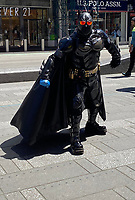 NEW YORK, NY-. - MAY 17: Costume Characters Return to NYC's Times Square During the Coronavirus Pandemic in New York City on May 17, 2020. <br /> CAP/MPI/RMP<br /> ©RMP/MPI/Capital Pictures