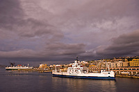Il traghettamento nello Stretto di Messina