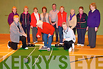 Listowel Bowling Group : Aine Andrews , Listowel casting the bowl at the Listowel Active Retirement Bowling Group who meet at the Listowel Sports centre to bowl. Front : Catherine O'Donnell, Aine Andrews & Cait Baker. Back : Bridie McNaught, Eileen Wooster, Mai Falnnagan, Rita hannon, Malcolm Payne, Peggy Brick, Anna Walsh, Margaret Flynn & Hannah Foley...........
