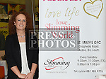 Lynne Woods from Slimming World pictured at the Enterprise day in Ardee parish centre. Photo:Colin Bell/pressphotos.ie