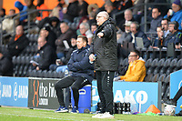 Barnet Manager John Still during Barnet vs Stockport County, Emirates FA Cup Football at the Hive Stadium on 2nd December 2018