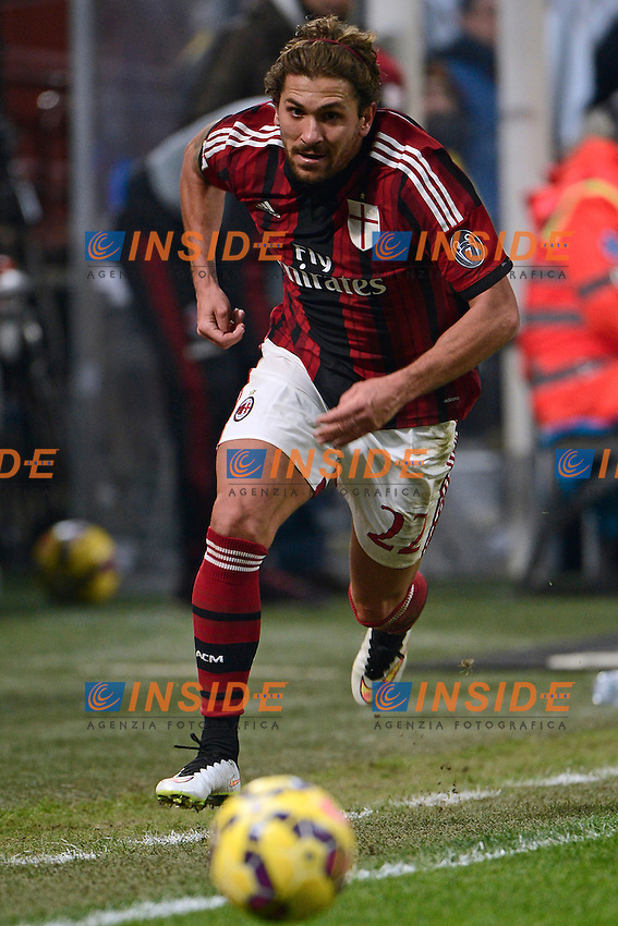 Alessio Cerci Milan<br /> Milano 27-01-2015 Stadio Giuseppe Meazza - Football Calcio Coppa Italia Milan - Lazio. Foto Giuseppe Celeste / Insidefoto