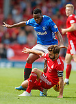 05.08.18 Aberdeen v Rangers: Lassana Coulibaly and Graeme Shinnie