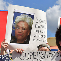 NOV 10 Protesters Gather at The Broward County's Election Headquarters