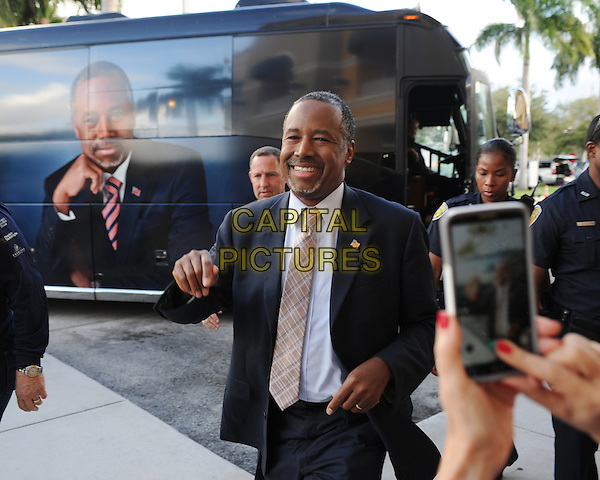 FORT LAUDERDALE FL - NOVEMBER 05: Presidential candidate Dr. Ben Carson attends a book signing at Barnes and Noble where he signed copies of his book 'A More Perfect Union' on November 5, 2015 in Fort Lauderdale, Florida. <br /> CAP/MPI04<br /> &copy;MPI04/Capital Pictures