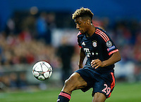 Bayer Munich´s forward Kingsley Coman